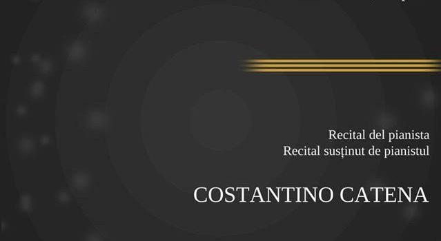 Recital del pianista Costantino Catena