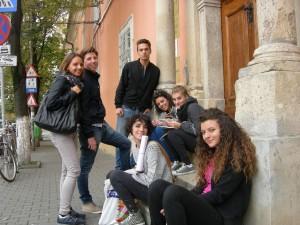 studenti di sulmona al centro culturale italiano