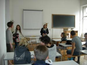 studenti di sulmona in visita alluniversita babes bolyai