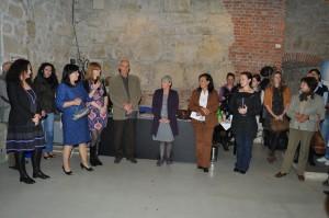 Da sinistra Carmen Marc,Emilia Lup,Karin Hann,Nicolae Sabau,Daniela Paiola,Carmela Lista,Joana Filippescu,Mariana Istrate